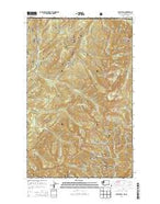 Gypsy Peak Washington Current topographic map, 1:24000 scale, 7.5 X 7.5 Minute, Year 2014 from Washington Map Store