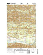 Hamilton Washington Current topographic map, 1:24000 scale, 7.5 X 7.5 Minute, Year 2014 from Washington Map Store