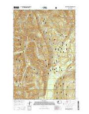 Hamilton Buttes Washington Current topographic map, 1:24000 scale, 7.5 X 7.5 Minute, Year 2014 from Washington Maps Store