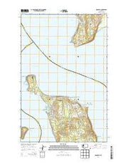 Hansville Washington Current topographic map, 1:24000 scale, 7.5 X 7.5 Minute, Year 2014 from Washington Maps Store