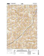 Harrington Washington Current topographic map, 1:24000 scale, 7.5 X 7.5 Minute, Year 2013 from Washington Map Store