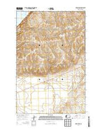Hartline NW Washington Current topographic map, 1:24000 scale, 7.5 X 7.5 Minute, Year 2014 from Washington Map Store