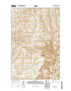 Hartline SE Washington Current topographic map, 1:24000 scale, 7.5 X 7.5 Minute, Year 2014 from Washington Map Store