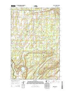Harts Lake Washington Current topographic map, 1:24000 scale, 7.5 X 7.5 Minute, Year 2013 from Washington Map Store