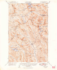 Holden Washington Historical topographic map, 1:62500 scale, 15 X 15 Minute, Year 1949