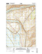Humorist Washington Current topographic map, 1:24000 scale, 7.5 X 7.5 Minute, Year 2014 from Washington Maps Store