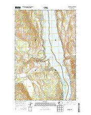 Inchelium Washington Current topographic map, 1:24000 scale, 7.5 X 7.5 Minute, Year 2014 from Washington Maps Store
