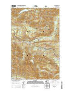 Index Washington Current topographic map, 1:24000 scale, 7.5 X 7.5 Minute, Year 2014 from Washington Map Store