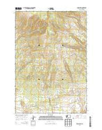 Indian Rock Washington Current topographic map, 1:24000 scale, 7.5 X 7.5 Minute, Year 2013 from Washington Map Store