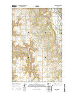 Inkster Lake Washington Current topographic map, 1:24000 scale, 7.5 X 7.5 Minute, Year 2013 from Washington Map Store
