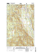 Ione Washington Current topographic map, 1:24000 scale, 7.5 X 7.5 Minute, Year 2014 from Washington Map Store