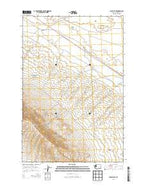 Iowa Flats Washington Current topographic map, 1:24000 scale, 7.5 X 7.5 Minute, Year 2013 from Washington Map Store