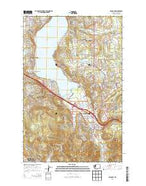 Issaquah Washington Current topographic map, 1:24000 scale, 7.5 X 7.5 Minute, Year 2014 from Washington Map Store