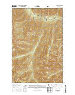 Jack Ridge Washington Current topographic map, 1:24000 scale, 7.5 X 7.5 Minute, Year 2014 from Washington Map Store