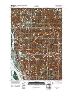 Kalama Washington Historical topographic map, 1:24000 scale, 7.5 X 7.5 Minute, Year 2011