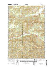 Kamilche Valley Washington Current topographic map, 1:24000 scale, 7.5 X 7.5 Minute, Year 2014 from Washington Maps Store