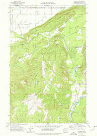 Kendall Washington Historical topographic map, 1:24000 scale, 7.5 X 7.5 Minute, Year 1972
