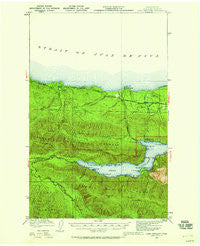 Lake Crescent Washington Historical topographic map, 1:62500 scale, 15 X 15 Minute, Year 1918