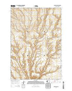 Lenzie Ranch Washington Current topographic map, 1:24000 scale, 7.5 X 7.5 Minute, Year 2013 from Washington Map Store
