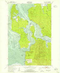 Long Island Washington Historical topographic map, 1:24000 scale, 7.5 X 7.5 Minute, Year 1949
