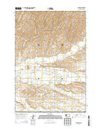 Lowden Washington Current topographic map, 1:24000 scale, 7.5 X 7.5 Minute, Year 2013 from Washington Map Store
