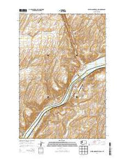 Lower Monumental Dam Washington Current topographic map, 1:24000 scale, 7.5 X 7.5 Minute, Year 2014 from Washington Maps Store