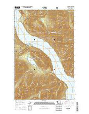 Lucerne Washington Current topographic map, 1:24000 scale, 7.5 X 7.5 Minute, Year 2014 from Washington Maps Store