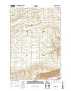 Luna Butte Washington Current topographic map, 1:24000 scale, 7.5 X 7.5 Minute, Year 2013 from Washington Map Store