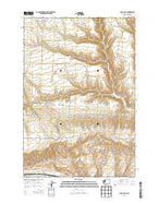 Luna Gulch Washington Current topographic map, 1:24000 scale, 7.5 X 7.5 Minute, Year 2013 from Washington Map Store