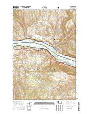 Lyle Washington Current topographic map, 1:24000 scale, 7.5 X 7.5 Minute, Year 2014 from Washington Maps Store