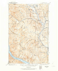 Methow Washington Historical topographic map, 1:125000 scale, 30 X 30 Minute, Year 1899