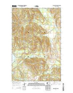 Moon Mountain Washington Current topographic map, 1:24000 scale, 7.5 X 7.5 Minute, Year 2014 from Washington Map Store