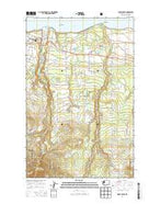 Morse Creek Washington Current topographic map, 1:24000 scale, 7.5 X 7.5 Minute, Year 2014 from Washington Map Store