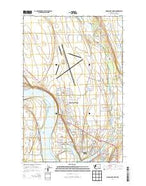 Moses Lake North Washington Current topographic map, 1:24000 scale, 7.5 X 7.5 Minute, Year 2014 from Washington Map Store