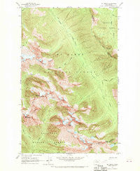 Mt. Arriva Washington Historical topographic map, 1:24000 scale, 7.5 X 7.5 Minute, Year 1963