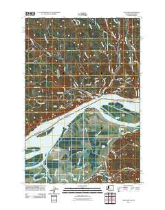 Oak Point Washington Historical topographic map, 1:24000 scale, 7.5 X 7.5 Minute, Year 2011