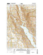 Omak Lake Washington Current topographic map, 1:24000 scale, 7.5 X 7.5 Minute, Year 2014 from Washington Map Store