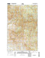 Omak Mountain Washington Current topographic map, 1:24000 scale, 7.5 X 7.5 Minute, Year 2014 from Washington Map Store