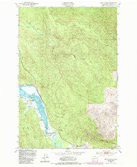 Oman Ranch Washington Historical topographic map, 1:24000 scale, 7.5 X 7.5 Minute, Year 1949