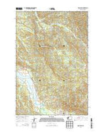 Oman Ranch Washington Current topographic map, 1:24000 scale, 7.5 X 7.5 Minute, Year 2014 from Washington Map Store