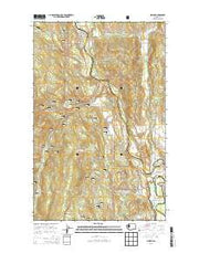 Orient Washington Current topographic map, 1:24000 scale, 7.5 X 7.5 Minute, Year 2014 from Washington Maps Store