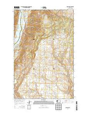 Orondo Washington Current topographic map, 1:24000 scale, 7.5 X 7.5 Minute, Year 2014 from Washington Maps Store