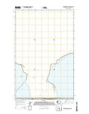 Point Roberts OE N Washington Current topographic map, 1:24000 scale, 7.5 X 7.5 Minute, Year 2014 from Washington Maps Store
