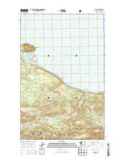 Pysht Washington Current topographic map, 1:24000 scale, 7.5 X 7.5 Minute, Year 2014 from Washington Maps Store
