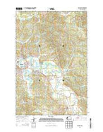 Raymond Washington Current topographic map, 1:24000 scale, 7.5 X 7.5 Minute, Year 2014 from Washington Map Store