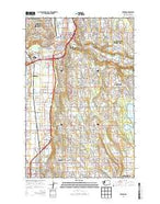 Renton Washington Current topographic map, 1:24000 scale, 7.5 X 7.5 Minute, Year 2014 from Washington Map Store