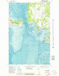 Richardson Washington Historical topographic map, 1:24000 scale, 7.5 X 7.5 Minute, Year 1977