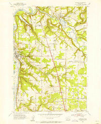 Ridgefield Washington Historical topographic map, 1:24000 scale, 7.5 X 7.5 Minute, Year 1954