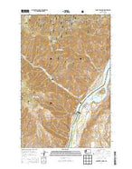 Rocky Reach Dam Washington Current topographic map, 1:24000 scale, 7.5 X 7.5 Minute, Year 2014 from Washington Map Store