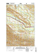 Ronald Washington Current topographic map, 1:24000 scale, 7.5 X 7.5 Minute, Year 2014 from Washington Map Store